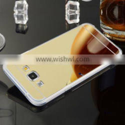2016 Full Model Wholesale TPU deluxe mirror bumper back case cover for samsung galaxy a8