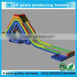 best quality low price giant inflatable pool slide for adult
