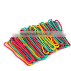 High Quality 43mm Colorful Elastic Nutural Silicone Rubber Band for Office