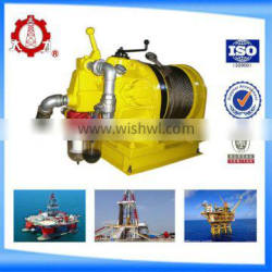 3T Piston-type cable pulling air operated coal mine winch