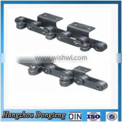 Agricultural Chain for Industry Double pitch lateral Steel Chains factory direct supplier DIN/ISO Chain made in hangzhou china