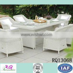 Table And Chair Rattan Alum frame