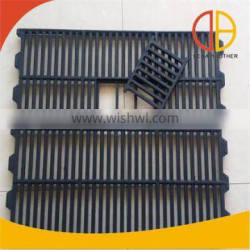600*700mm cast iron floor with fecal leakage port