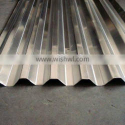ASTM color ed embossed aluminium corrugated sheets for roofing
