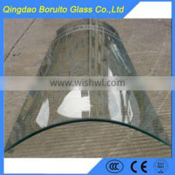 High quality solid curve tempered glass price