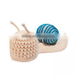 free shipping cotton yarn knitted baby photography props