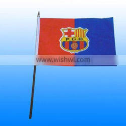 bob trading Polyester Hand flag best factory guangzhou hand flags