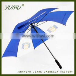 High Quality Automatic Straight Golf Umbrella and ODM for Promotional Branded Golf Umbrellas