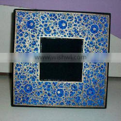 Paper machie picture frame,Picture frames,Photo frame,Wood picture frame,Photo picture frame,Desktop picture frame