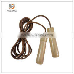 2015 new style wooden handle speed jump rope