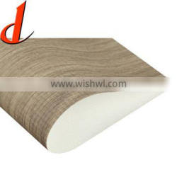 PVC film roll for vacuum press and steel and aluminium profilm wrapping
