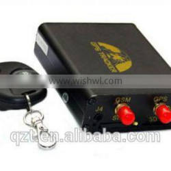 GT106 GPS tracker fuel monitor SOS button real time tracking