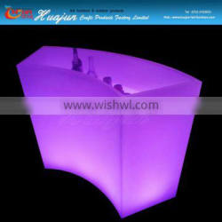 2016 Modern Design Hotel Club Glow LED Bar Counter with lighting