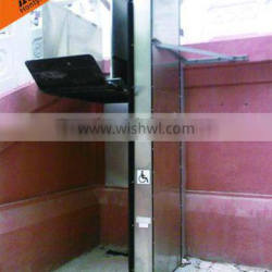 outdoor vertical 300kg obstacle-free platform lift company with CE
