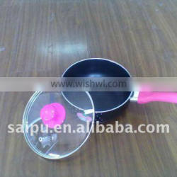 16cm, 2.0mm thickness grey ceramic coated frying pan