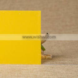 Visfilm frosted yellow color adhesive film for window glass