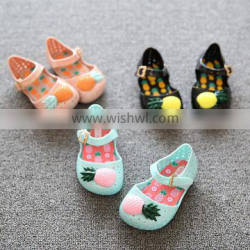 2016 new baby shoes fashion sandal shoes spring pvc baby jelly shoes sandal