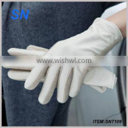 China YiWu SN factory new style noble fashion tight fancy sexy leather gloves