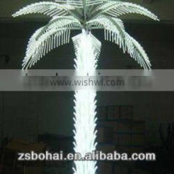 2016 LED artificial lighted palm treesoutdoor IP68