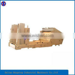 Customized Spare Parts Undercarriage for Pavement Planer/Heavy Steel Fabrication