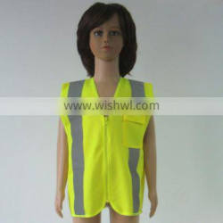 EN1150 outdoor activities using kid safety vest for protection