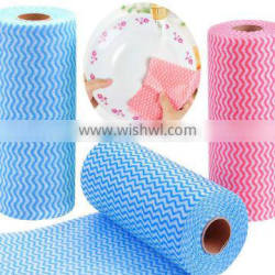 Household kitchen cleaning spunlace nonwoven wipes
