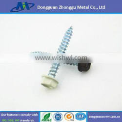 Hex head washer self tapping screw fastener hardware