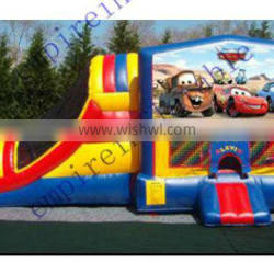 inflatables, inflatable bouncer with slide, commercial inflatable combo CC057