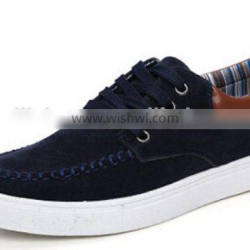 2015 Man genuine cow suede leather shoes