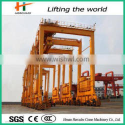 Advanced Performance Rubber-Tyred Container Portal Crane