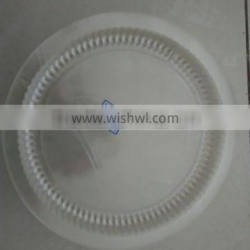 Round Clear Plastic Food Container Tray