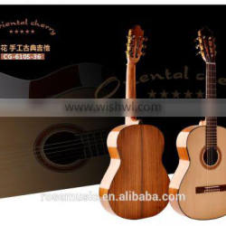 high quality classical guitar 36 inch made in China guitar factory(CG-610S-36)