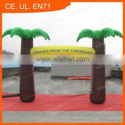 Custom made advertising event inflatable arch