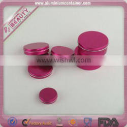 Eco-friendly empty decorative tin containers