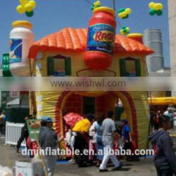 New brand advertising inflatable tent/inflatable booth for tradeshow/promotion