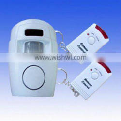 IR Wireless Infrared Sensor Detector Alarm With 2 Remote Control
