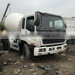 Selling products imported isuzu 9 m cubic meters of concrete mixer