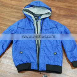 cheap padded double zipper jacket stock clothes wholesale
