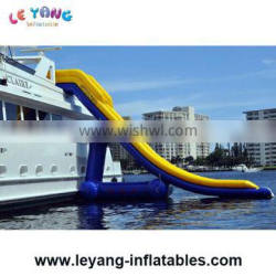 Sealed-Air Inflatable Water Slides For Yachts , Sealed Boat Slide