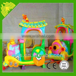 Really hot selling amusement park trains for sale