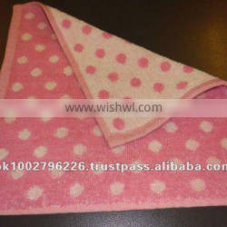 99% Cotton Small Terry Face Towels