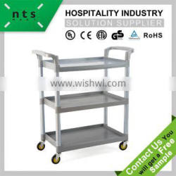 commercial use hotel trolley room service cart
