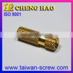 High Precision CNC Lathe Brass Inserts Nuts for Customer
