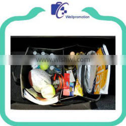 600D polyester car fabric travel organizer with big capacity