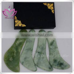free shipping various gemstone guasha board traditional Chinese therapy tools
