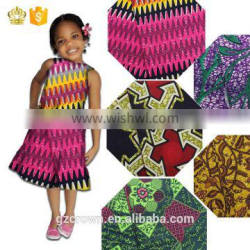 Hot selling Beautiful 100% cotton veritable african cotton real wax fabric hollandais wax fabric H170110007