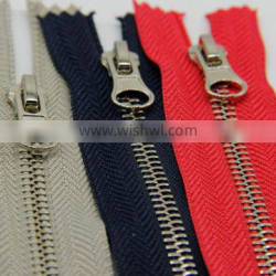 high quality customize NO.5 brass zipper for clothes