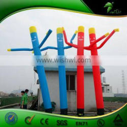 Colorful Single Leg Inflatable Sky Dancer Air Tube Man For Promotion Activity