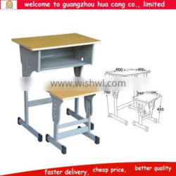 Classical table and chair for study school Solid outdoor metal table and chairs