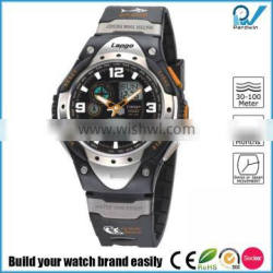 0.01s stopwatch chronograph rubber band 10ATM water resistant swimming watch
